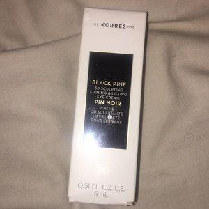 NWT KORRES BLACK PINE 3D SCULPTING EYE CREAM